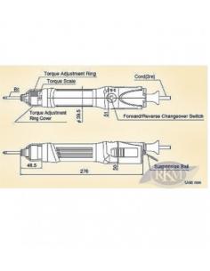 Druckluft-Pistolenbohrmaschine MODELL: ST-C210